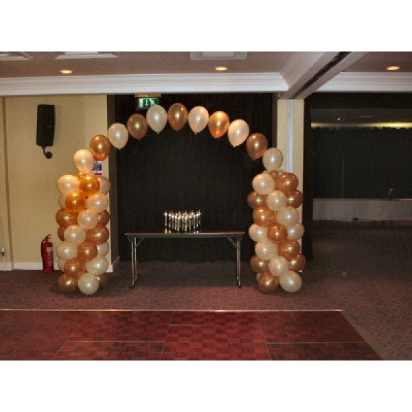 Balloon Pillar Arch