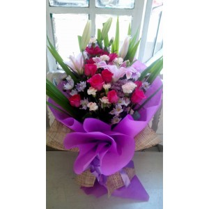 Purple Bouquet 101