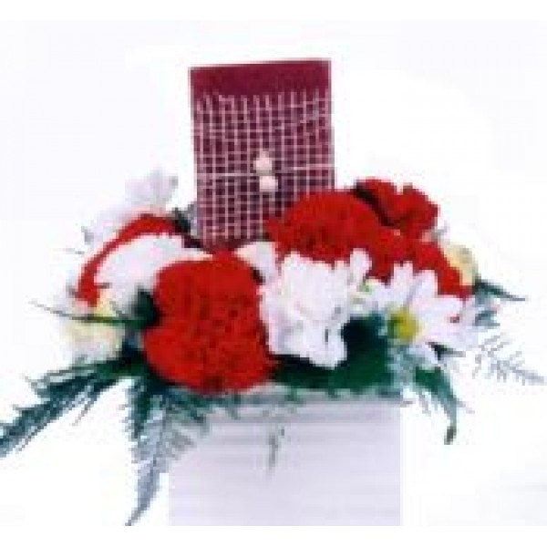 Centerpiece w/ Candle 72146
