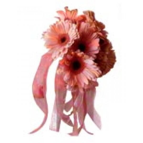 Hand Tied Pink Gerbera 72378