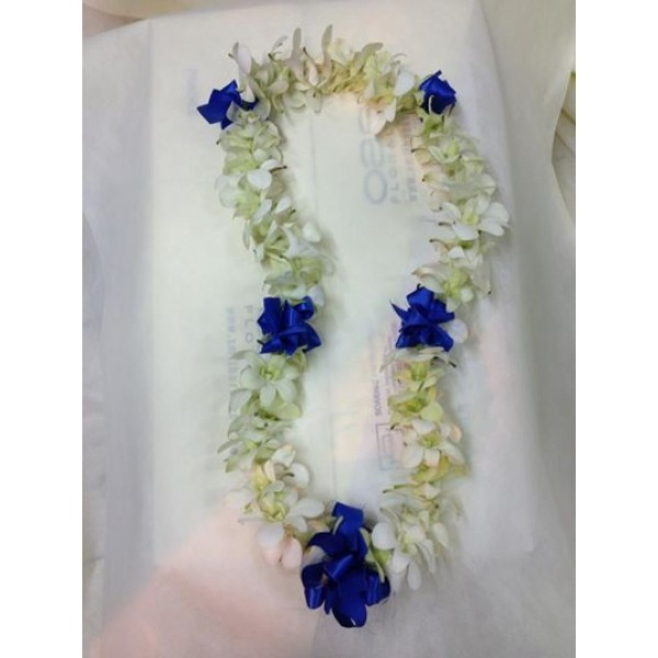 Orchids Garland or Leis