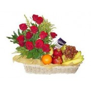 Roses,Chocolates and Fruits