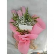 Valentine Tulips Bouquet